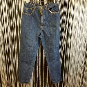 Vintage Jeans - Vintage plus PS Gitano dark blue mom jeans